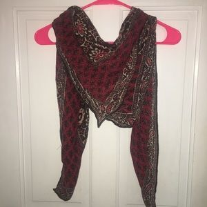 Large Abercrombie and Fitch scarf